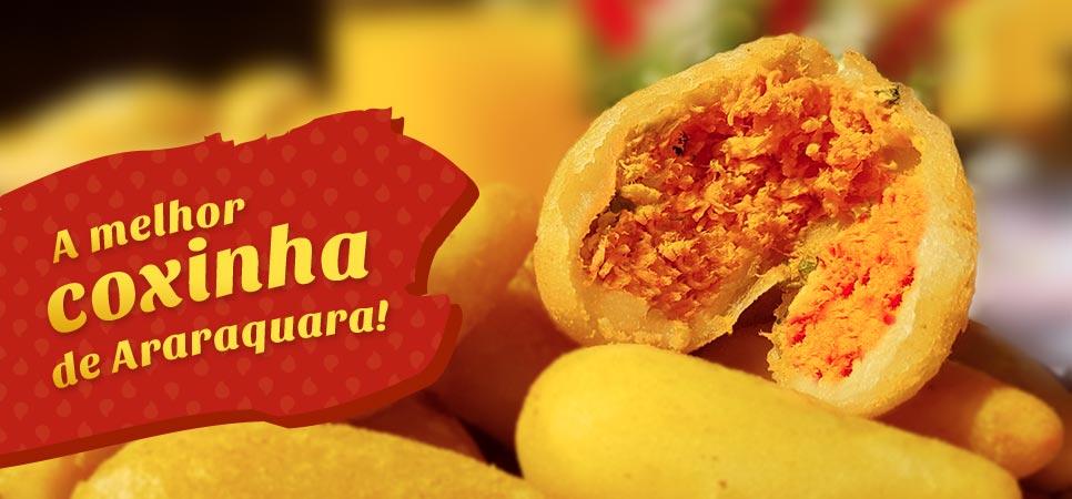 A melhor coxinha de Araraquara!